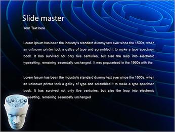 Brain Labyrinth PowerPoint Templates - Slide 2