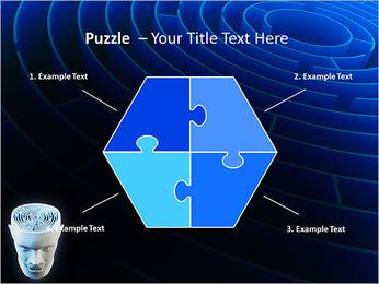 Brain Labyrinth PowerPoint Templates - Slide 20