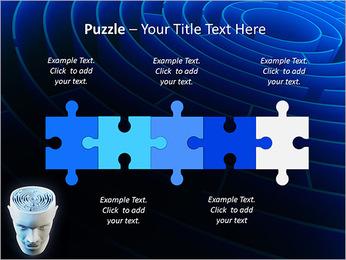 Brain Labyrinth PowerPoint Templates - Slide 21
