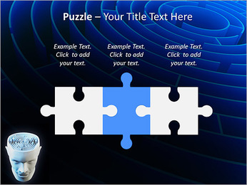 Brain Labyrinth PowerPoint Templates - Slide 22