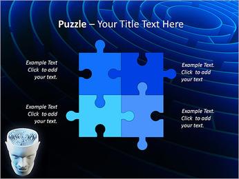 Brain Labyrinth PowerPoint Templates - Slide 23