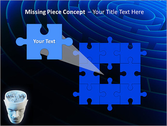 Brain Labyrinth PowerPoint Templates - Slide 25