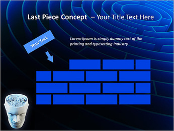 Brain Labyrinth PowerPoint Templates - Slide 26