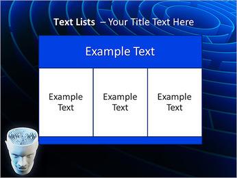 Brain Labyrinth PowerPoint Templates - Slide 39