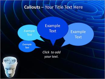 Brain Labyrinth PowerPoint Templates - Slide 53