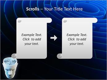 Brain Labyrinth PowerPoint Templates - Slide 54