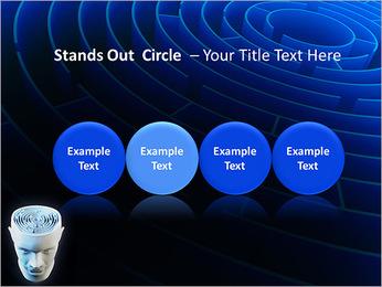 Brain Labyrinth PowerPoint Templates - Slide 56