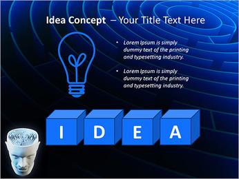 Brain Labyrinth PowerPoint Templates - Slide 60