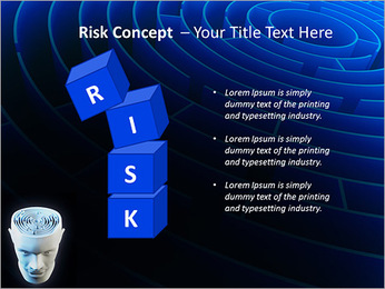 Brain Labyrinth PowerPoint Templates - Slide 61