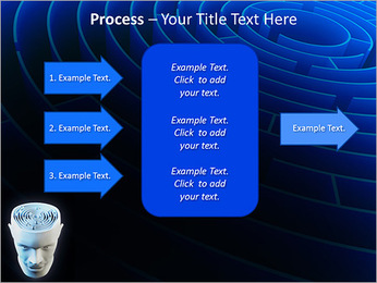 Brain Labyrinth PowerPoint Templates - Slide 65