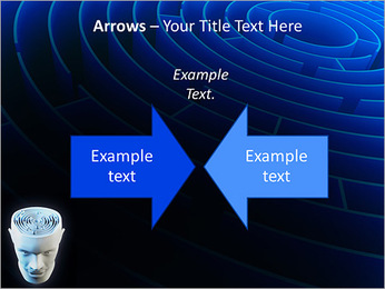 Brain Labyrinth PowerPoint Templates - Slide 70