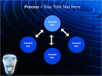 Brain Labyrinth PowerPoint Templates - Slide 71