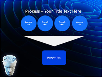 Brain Labyrinth PowerPoint Templates - Slide 73