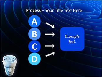 Brain Labyrinth PowerPoint Templates - Slide 74