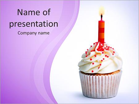 Birthday Cake PowerPoint Templates