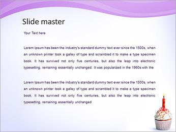 Birthday Cake PowerPoint Template - Slide 2