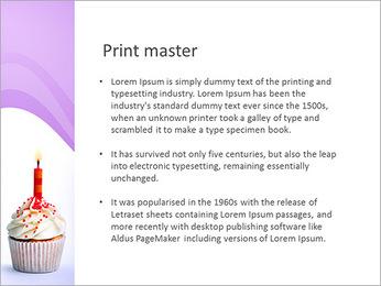 Birthday Cake PowerPoint Template - Slide 76