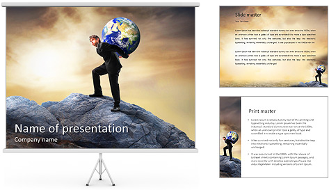 Save Planet PowerPoint Template