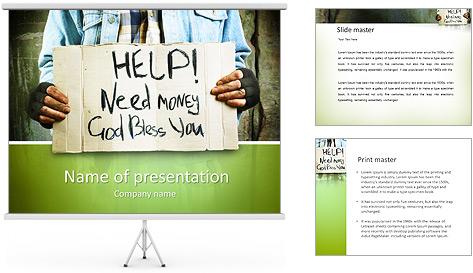 Need Money PowerPoint Template