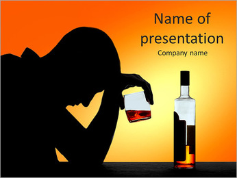 Alcoholic PowerPoint Templates - Slide 1
