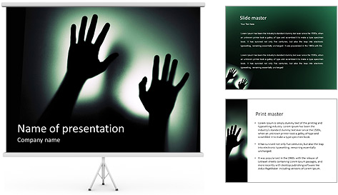 Human Shade PowerPoint Template
