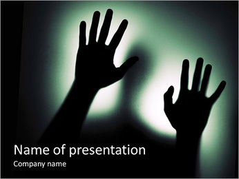 Human Shade PowerPoint Template - Slide 1