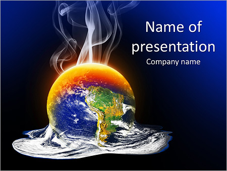 Global Warming PowerPoint Templates