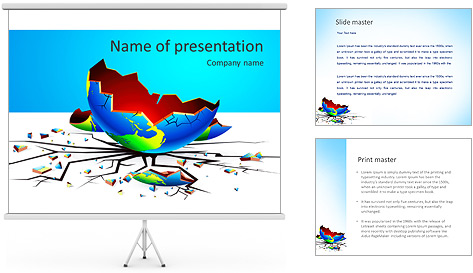 Global Crisis PowerPoint Template