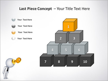 Key To Brain PowerPoint Templates - Slide 11