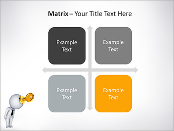 Key To Brain PowerPoint Templates - Slide 17