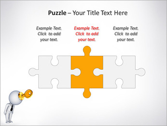 Key To Brain PowerPoint Templates - Slide 22