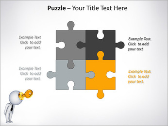 Key To Brain PowerPoint Templates - Slide 23