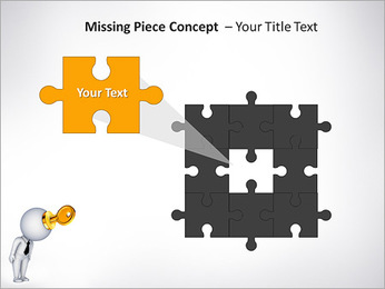 Key To Brain PowerPoint Templates - Slide 25