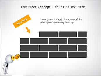 Key To Brain PowerPoint Templates - Slide 26
