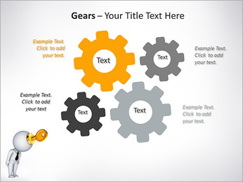 Key To Brain PowerPoint Templates - Slide 27