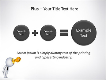 Key To Brain PowerPoint Templates - Slide 55
