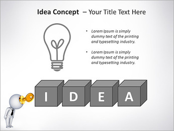 Key To Brain PowerPoint Templates - Slide 60