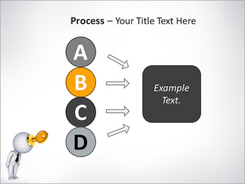 Key To Brain PowerPoint Templates - Slide 74