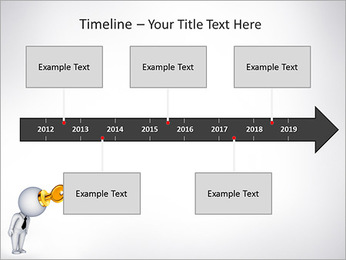 Key To Brain PowerPoint Templates - Slide 8