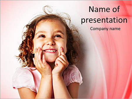 Funny Girl PowerPoint Templates