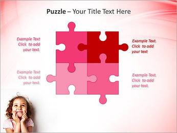 Funny Girl PowerPoint Template - Slide 23
