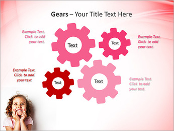Funny Girl PowerPoint Template - Slide 27