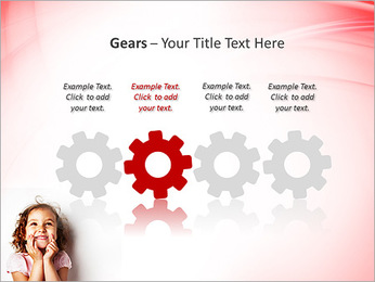 Funny Girl PowerPoint Template - Slide 28