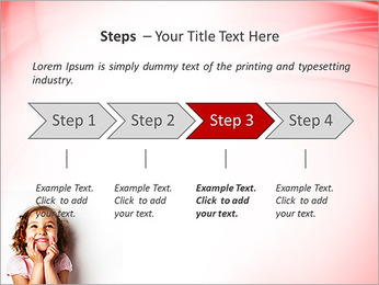 Funny Girl PowerPoint Template - Slide 4