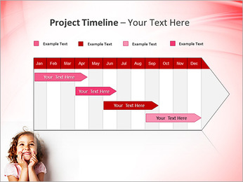 Funny Girl PowerPoint Template - Slide 5