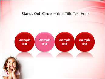 Funny Girl PowerPoint Template - Slide 56