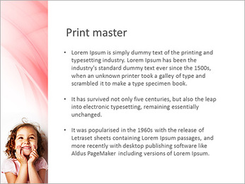 Funny Girl PowerPoint Template - Slide 76