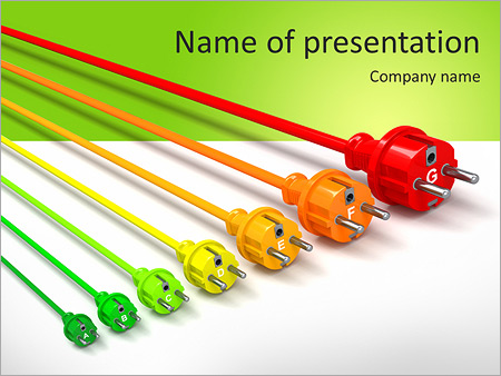 colored wire powerpoint template backgrounds google slides id rh smiletemplates com