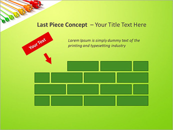 Colored Wire PowerPoint Template - Slide 26