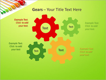 Colored Wire PowerPoint Template - Slide 27